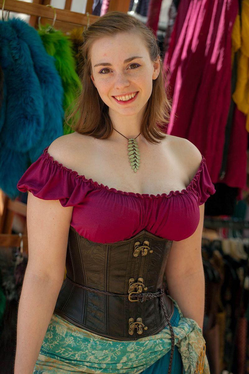 Lovely lass California - 2014 Original Renaissance Festival in Irwindale frank kovalcheck