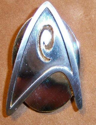 Star Trek--Clip Clock