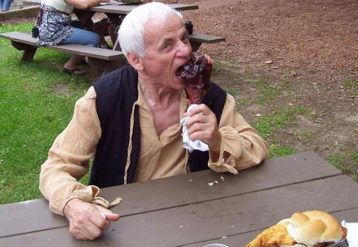 Ed vs the turkey leg