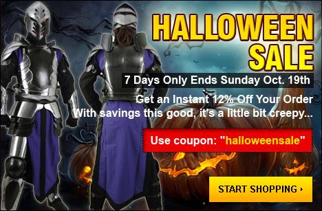 Halloween sale 2014