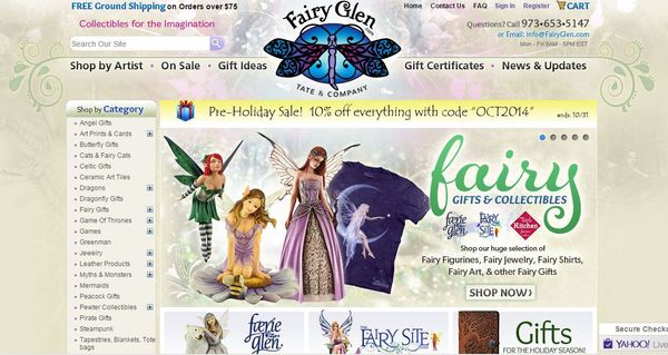 Fairy glen tate & company website