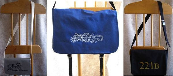 Storied Threads--Bag Trio