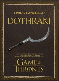 Living language learn conversational dothraki