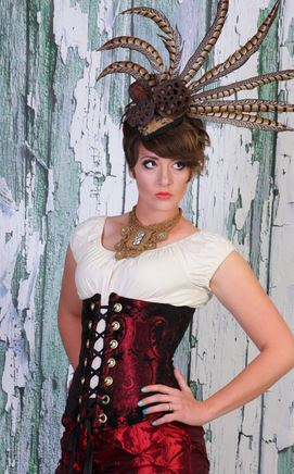 Damsel in This Dress--Wench Corset