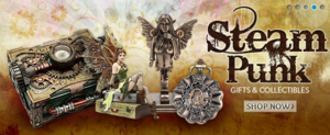 Steampunk store at FairyGlen