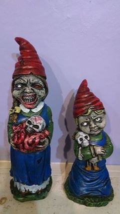 Cornerstone Creations--Zombie Gnomes