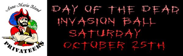 Anna maria island privateers day of the dead invasion ball
